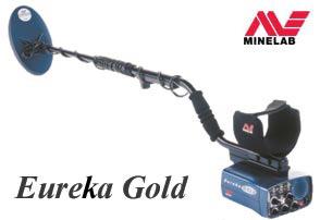 Металлодетектор (металлоискатель) Eureka Gold для поиска золотых самородков.